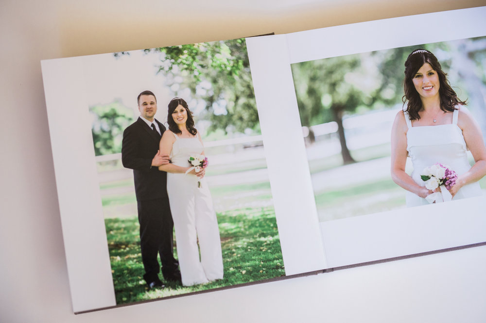 Millers Signature Album | Cleveland OH Intimate Wedding Photographer