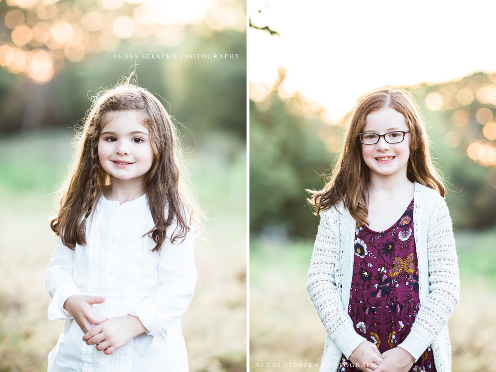 two sisters wearing fall colors | cleveland, ohio family photography