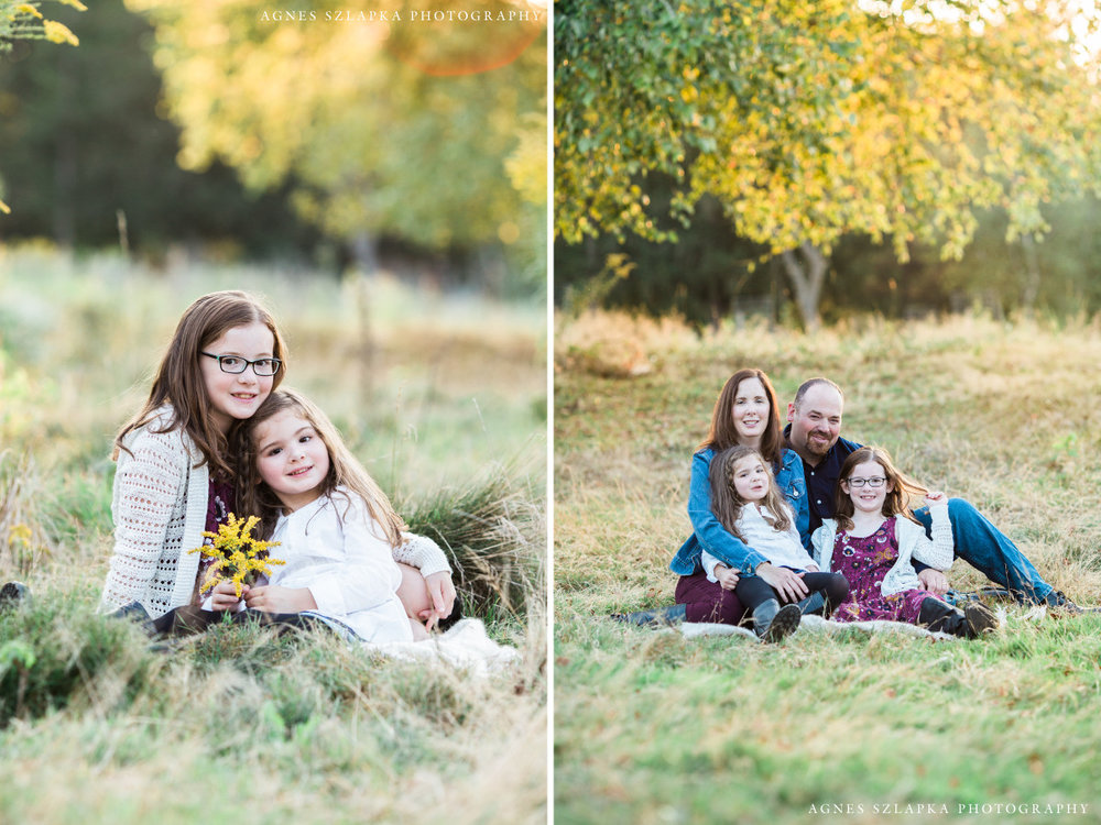 two small sisters during fall season | clevaealnd, OH family photographer