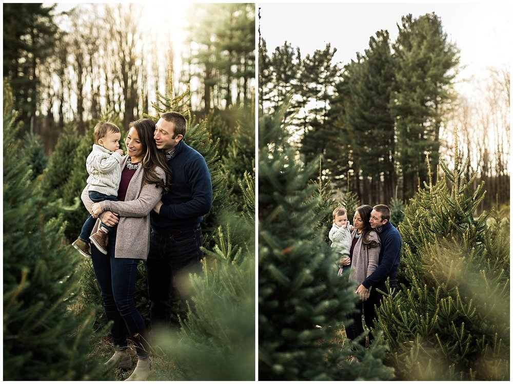 parents with two year old toddler boy | cleveland OH family photographer