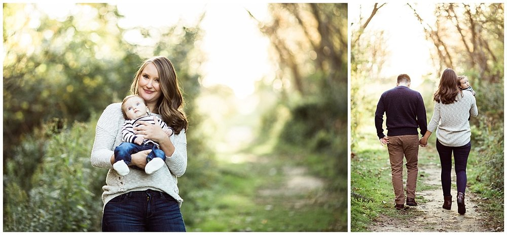 mom holding infant baby son | cleveland, lifestyle newborn photography