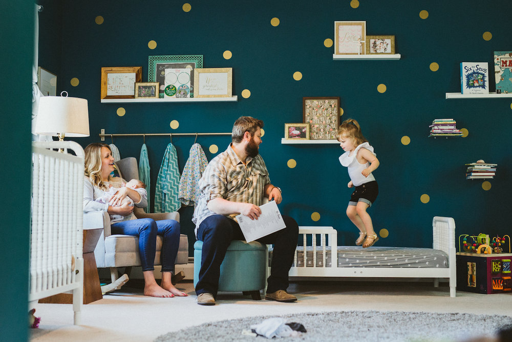 land of nod girls room in chagrin falls | cleveland, oh newborn photographer