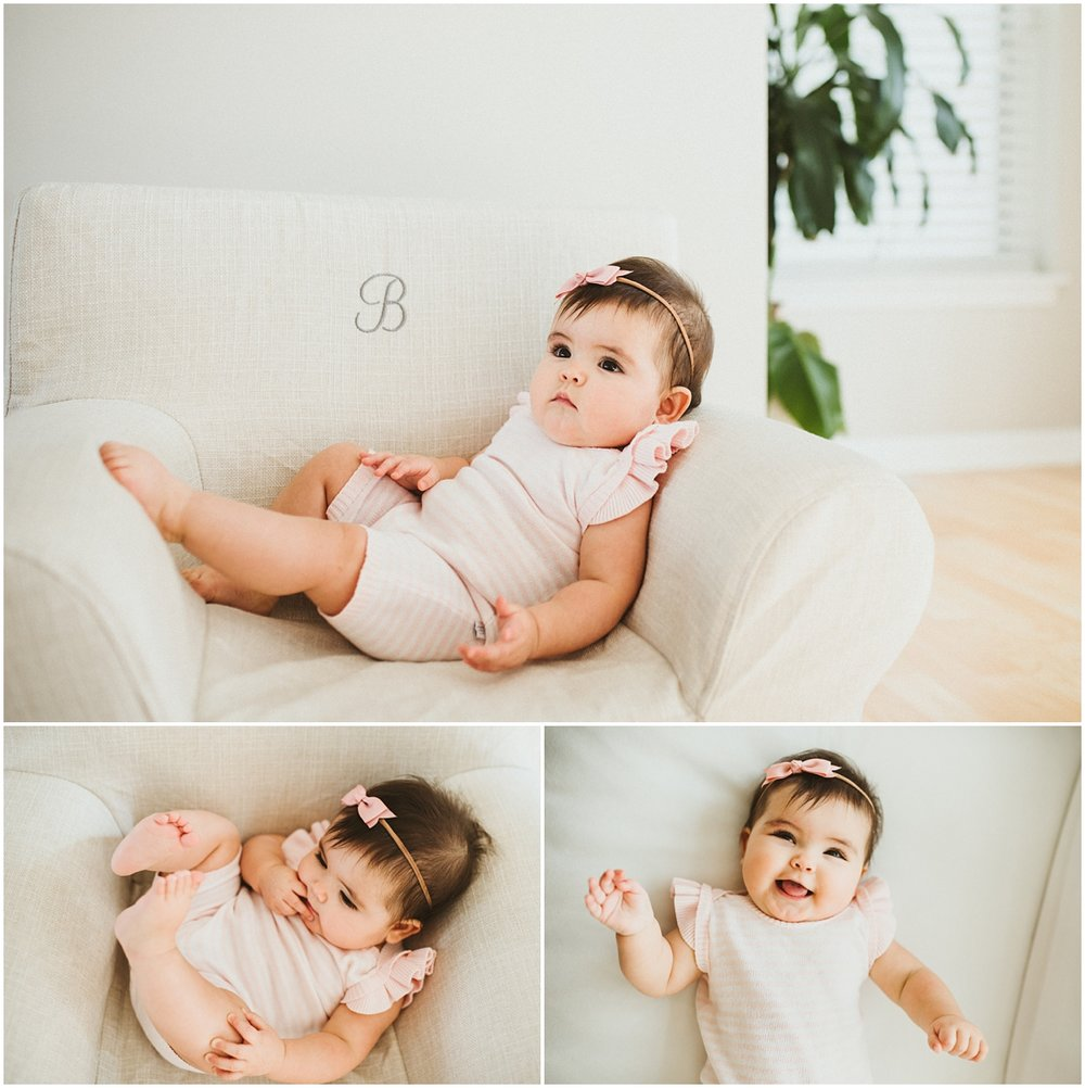 baby girl 6 months old | cleveland, OH family photographer