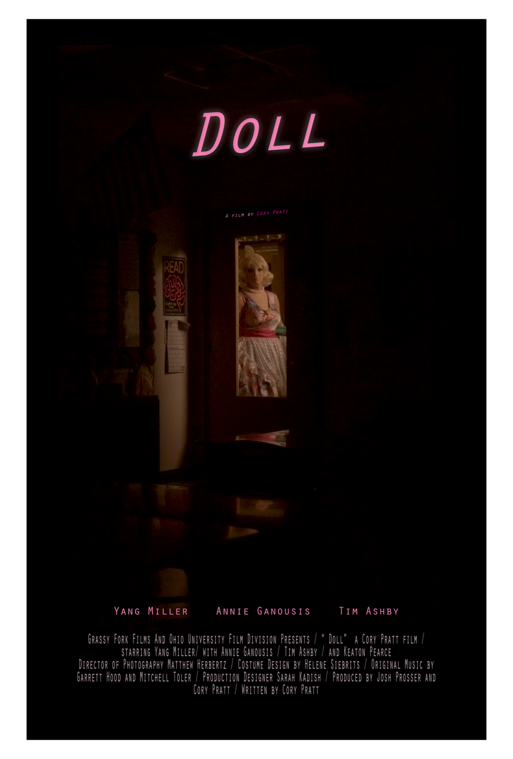Doll - Short film directed by Cory Pratt premiering at Dances With Films in Hollywood. CA on Saturday June 3rd
