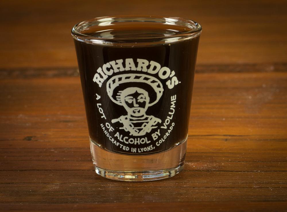 Richardo's Shot Glass