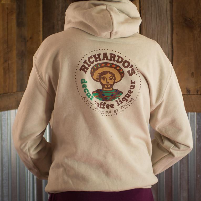 Tan Richardo's Hoodie (back)