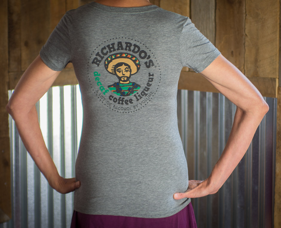Women's Richardo's T-shirt (back)