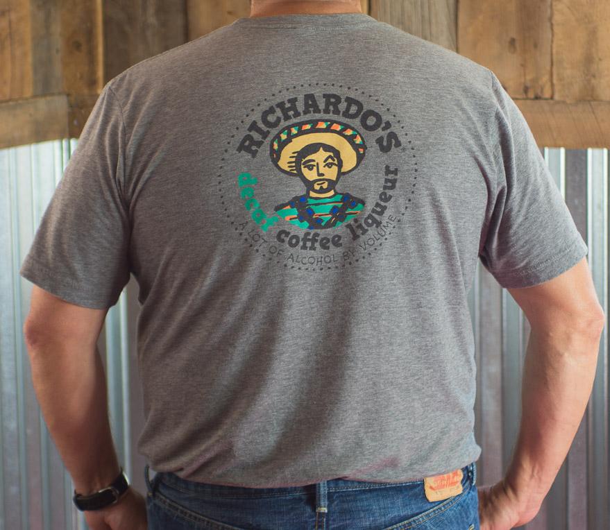 Men's Richardo's T-shirt (back)