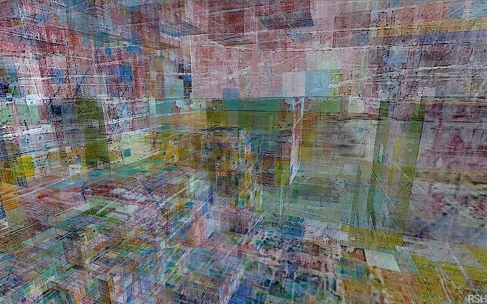 Raymond Salvatore Harmon  Elliptical Confinement , 2015 Interactive digital painting on iPAD Unlimited duration unique