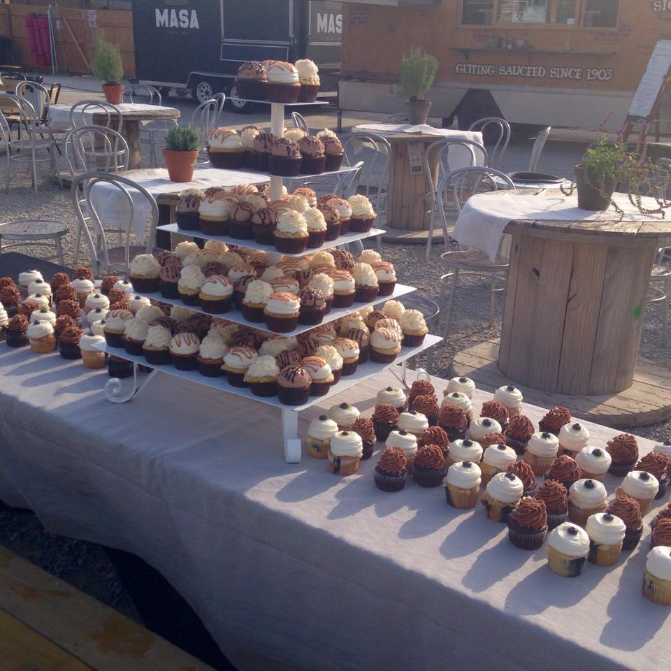 Catering done at Bleu Garten
