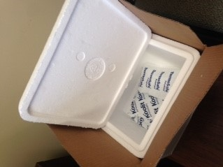 Texas Oncology   Every month, this local cancer clinic needs to re-home 50 - 100 Styrofoam coolers and their included freeze packs. The freeze packs are non-toxic, biodegradable, and reusable.