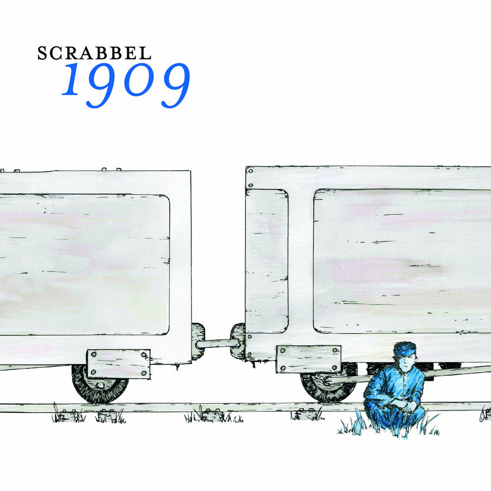 Scrabbel-1909-cover by Dan Lee