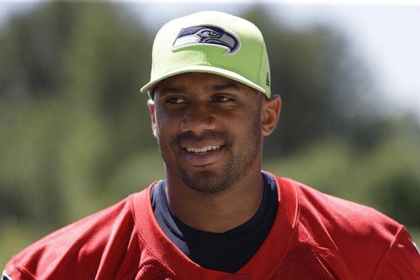 Russell Wilson, Quarterback,Seattle Seahawks.