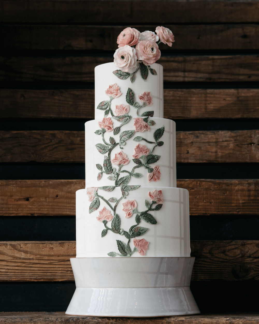 tiered wedding cake botanical embroidery sugar flowers.png