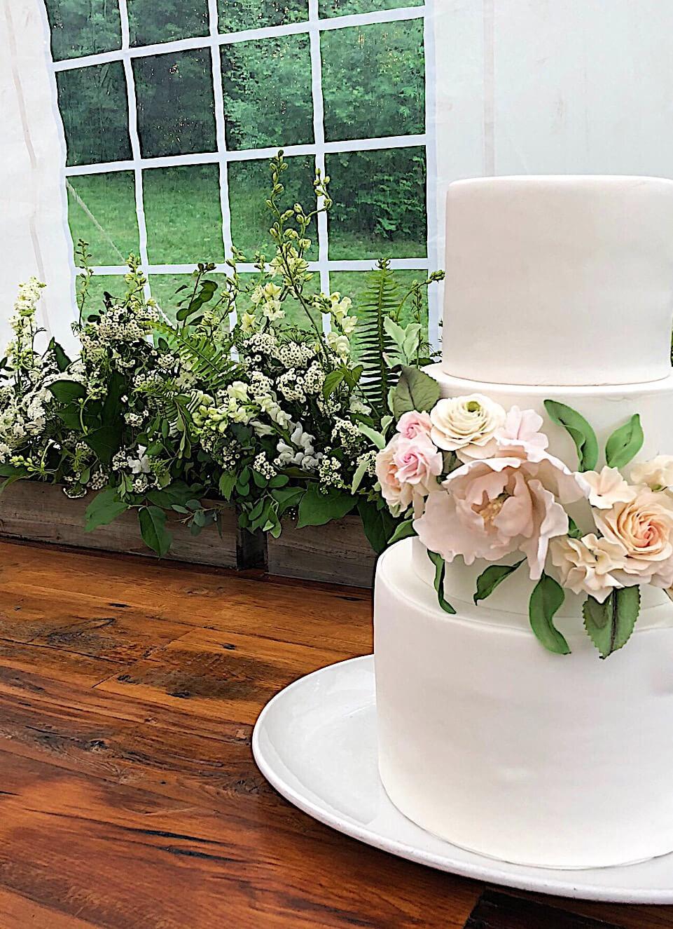 feminine blush peach sugar flower wedding cake.jpg