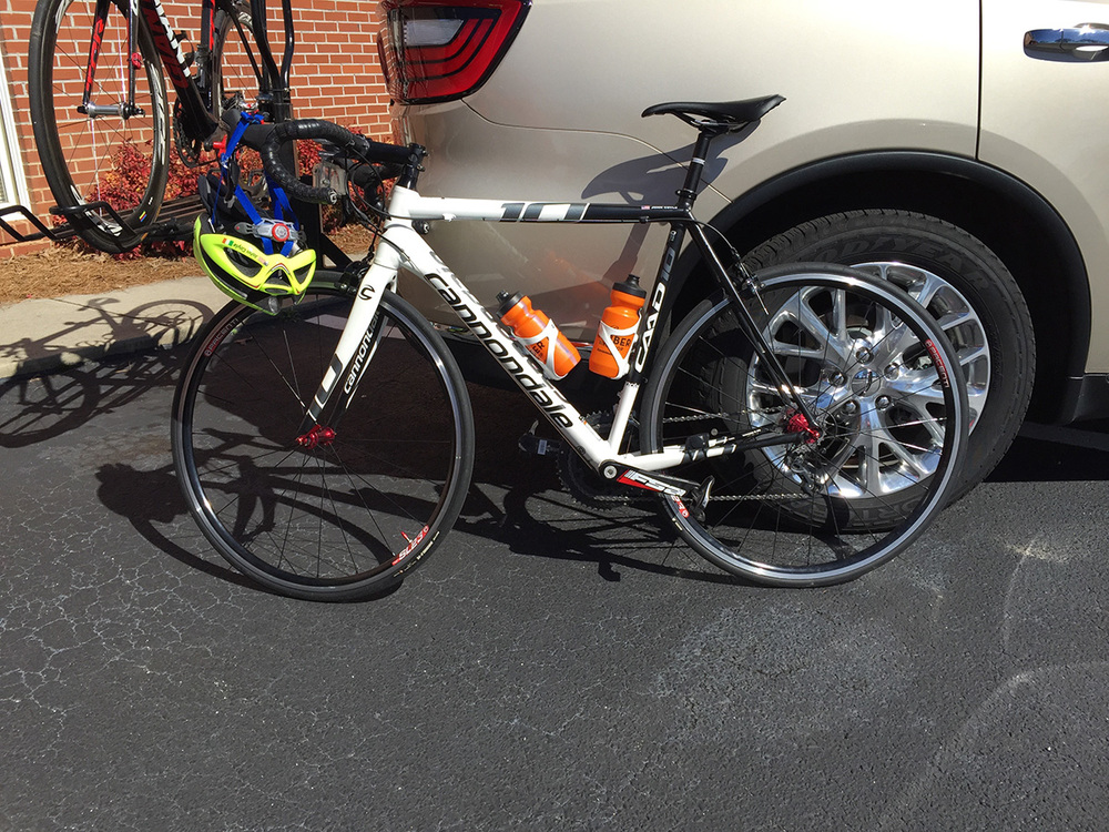 Another CAAD10 at the Gainesville GP - Shimano Ultegra.