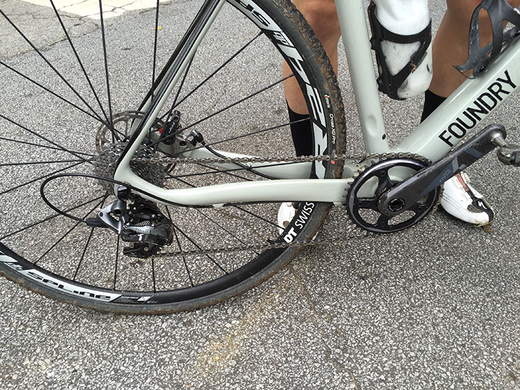 Seems if you're anyone serious about cross you're rocking the FORCE1 drivetrain.