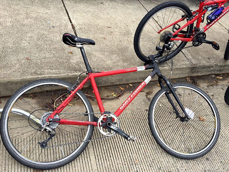 Cool old Gary Fisher mountain bike.