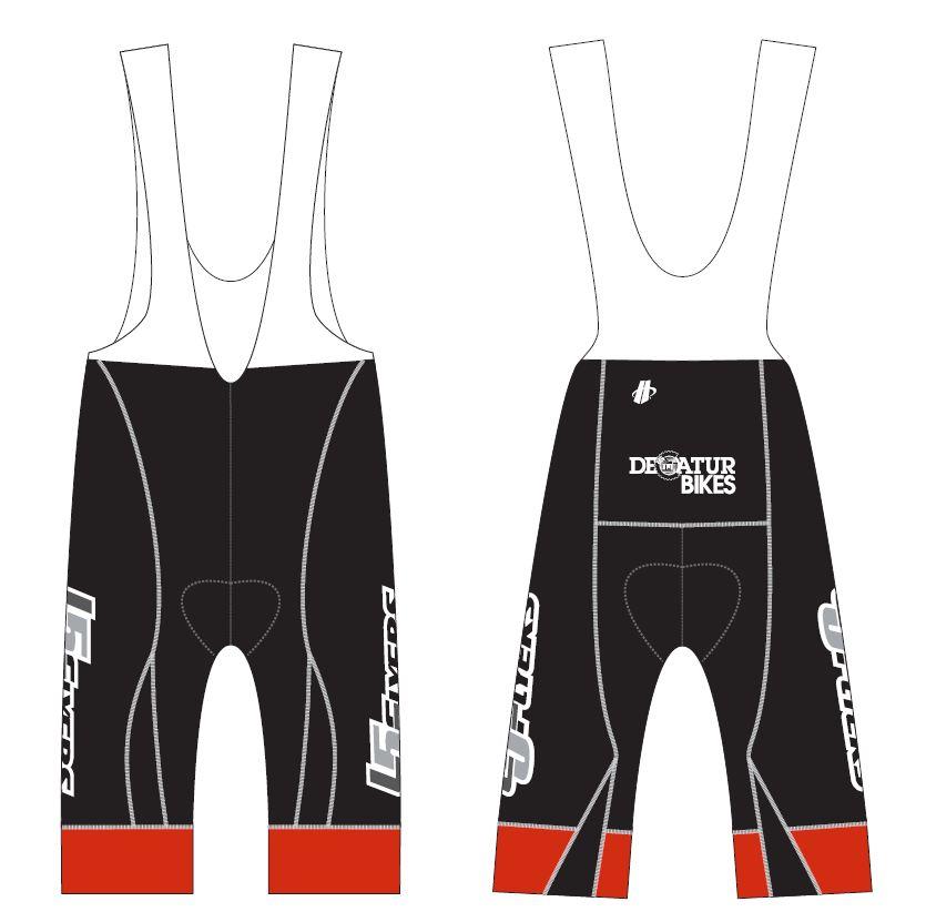 MAX bib shorts design.