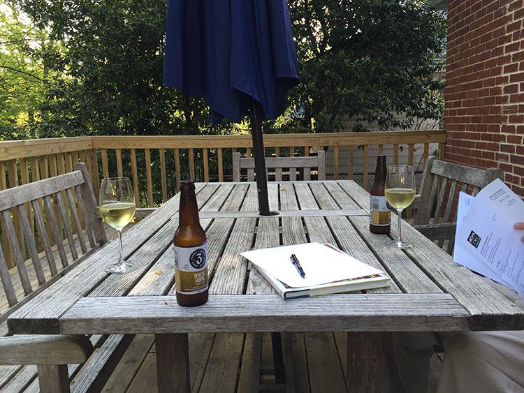 Mmmm love Three Taverns White Hops brewskies.