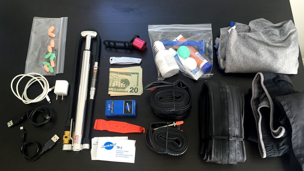 Most of the stuff I'm bringing.