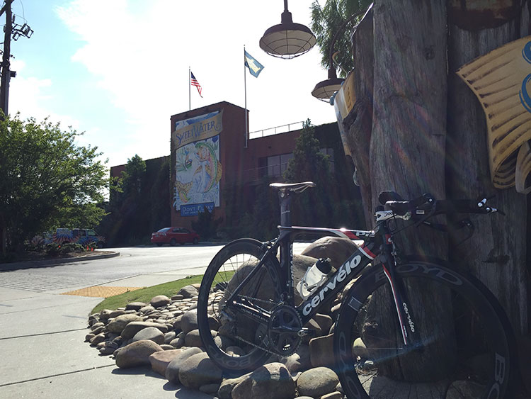 Doing TT efforts on the  loop around Sweetwater Brewery  is a great intown option.