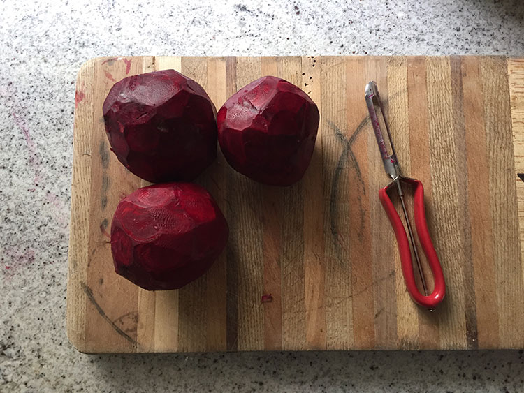 BEETS ARE HARD TO BEAT.