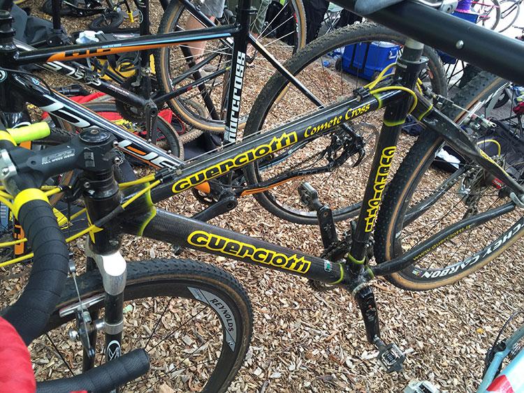 Guerciotti, don't know it but it looks like a 90s bike.