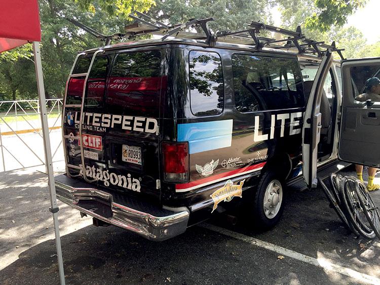 The Litespeed BMW van. PRO.