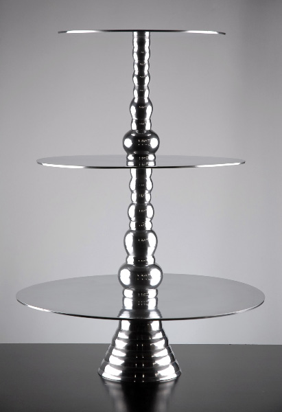 Silver Cake Stand $25