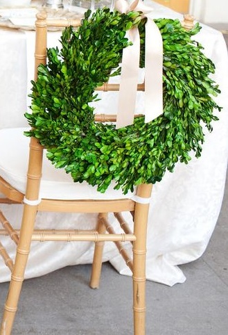 Copy of Boxwood Wreath Large Sm. $4 Lrg. $8