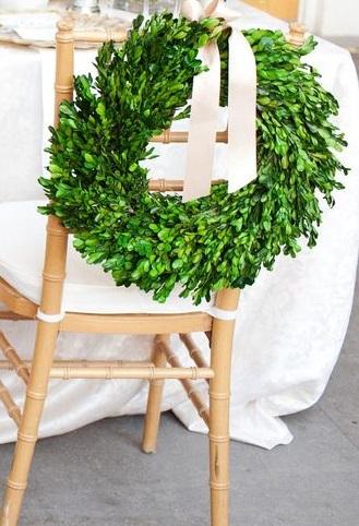 Boxwood Wreath Large Sm. $4 Lrg. $8
