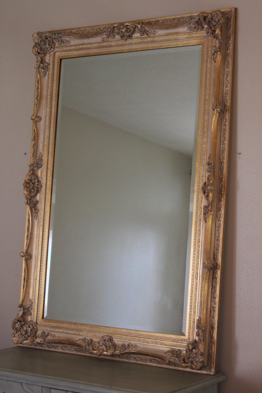 Rococo Gilt Mirror $75