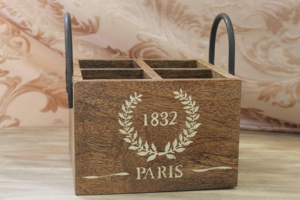 Parisian Crate $6
