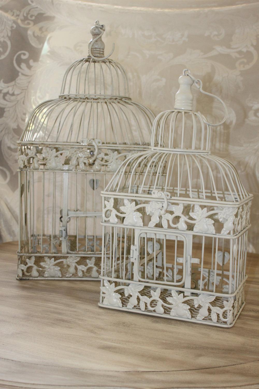 Aubrey Bird Cages $6 Sm. $8 Lrg.