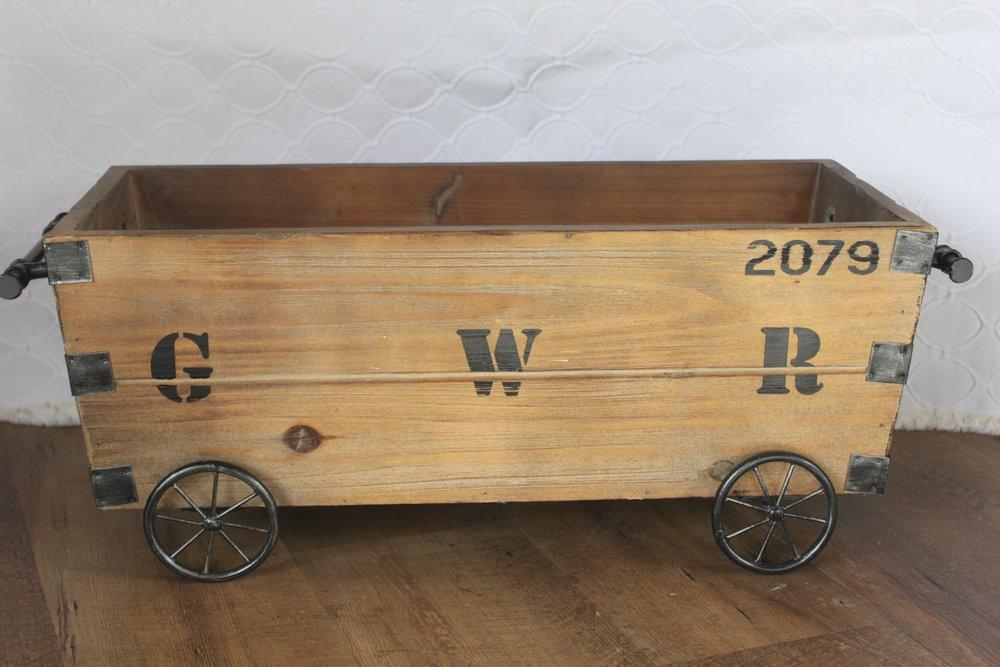 Tabletop Wagon $8/ea.