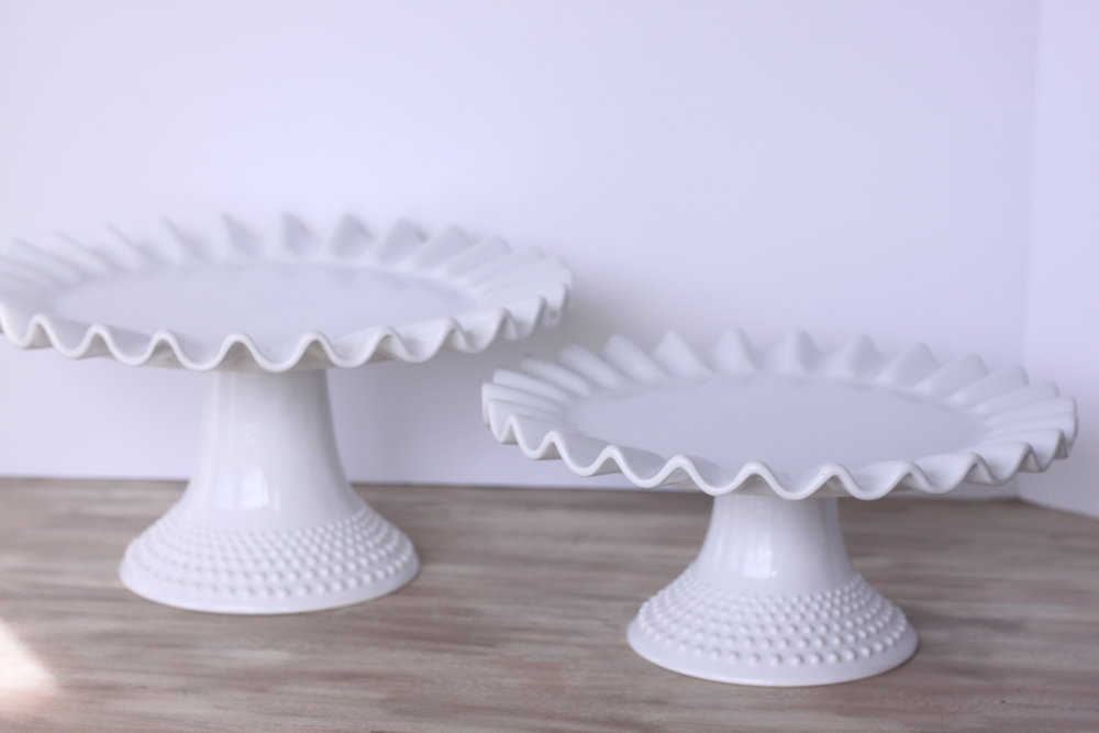 Copy of Elizabeth Cake Stand Sm. $4 Lrg. $6