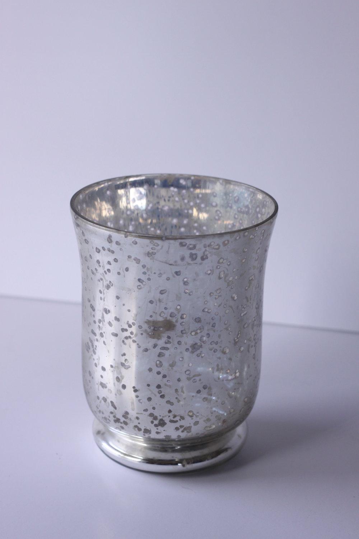 Silver Mercury Vases $3/ea.