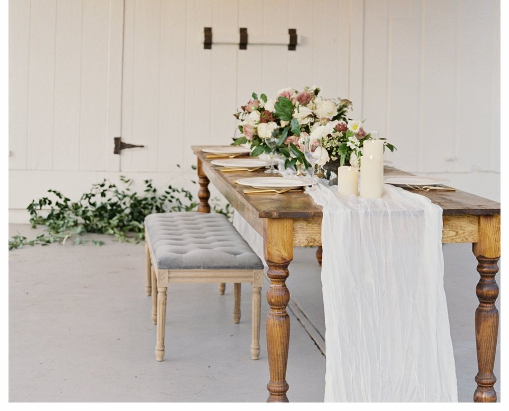 Heirloom Farm Table $125/ea.