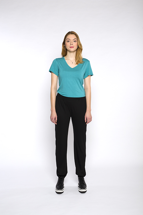 Justine-leconte-black-casual-pants