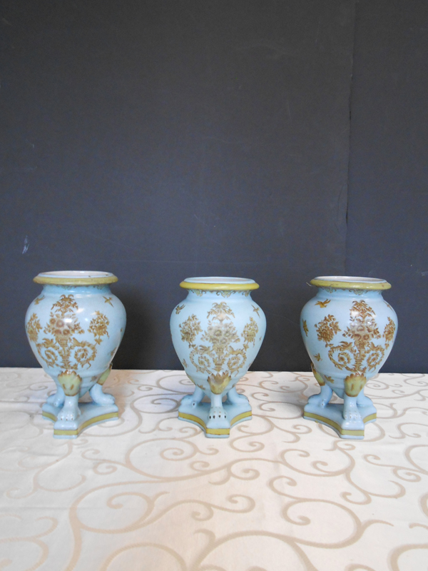 Aqua Asian Ceramic trio
