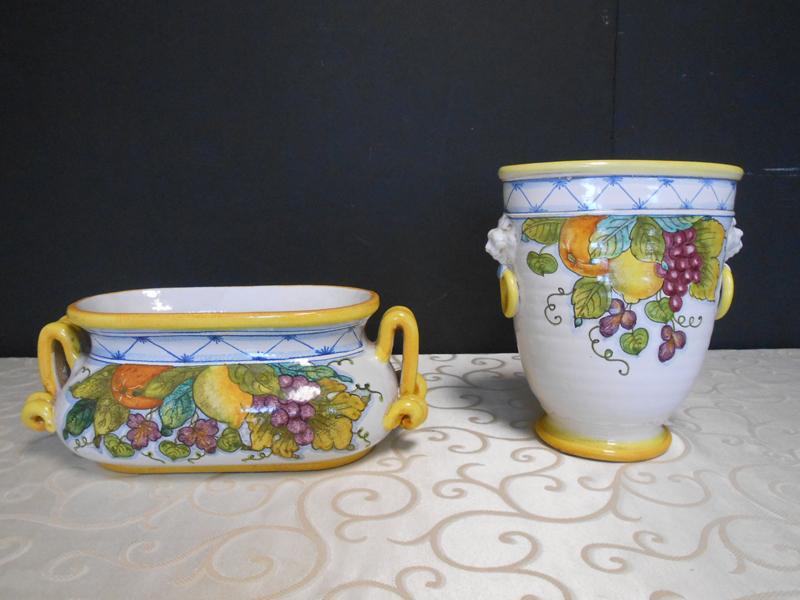 Italian ceramic pottery