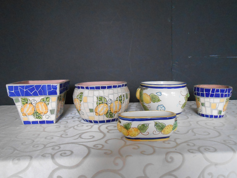 Lemon ceramic collection
