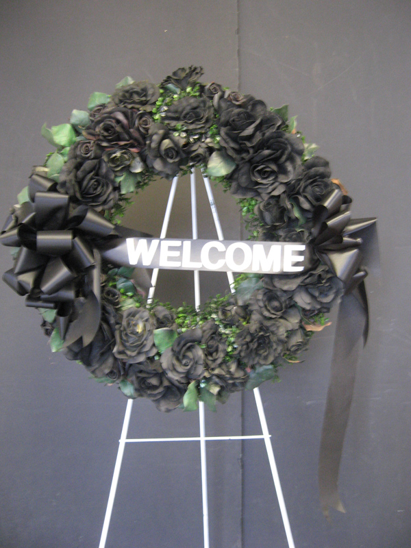 Spooky wreath
