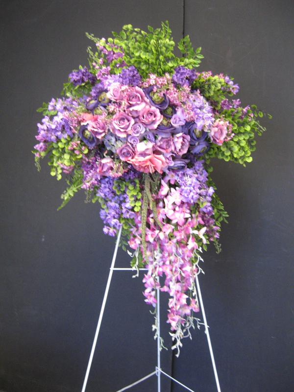 Lavender easel spray