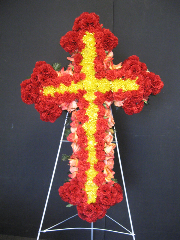 Orthodox easel cross