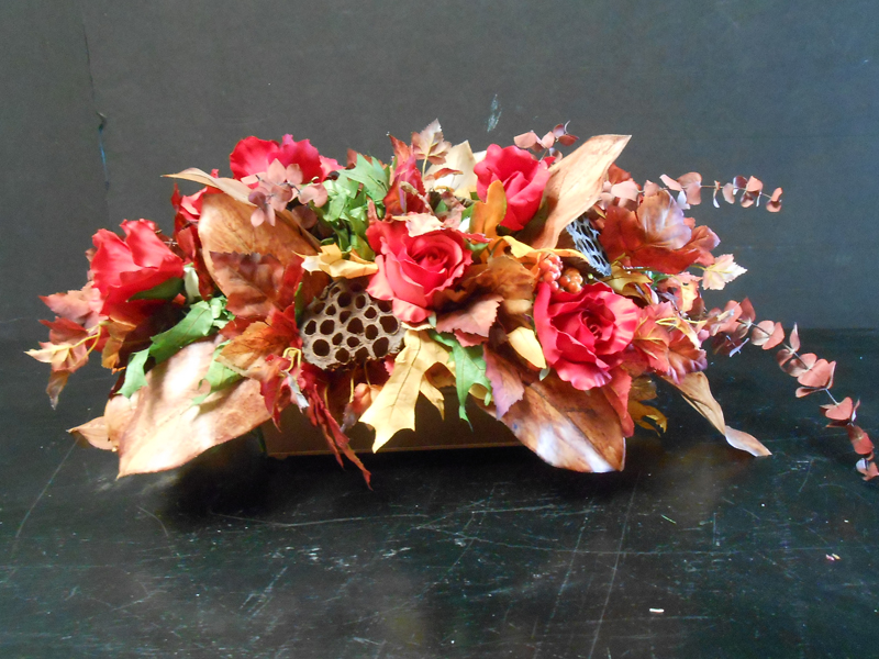 Warm tones centerpiece