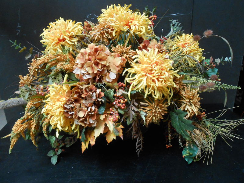 Autumn mixed floral