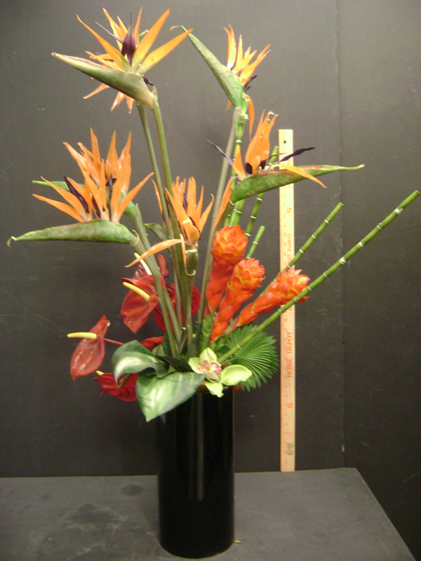 Bird of Paradise floral