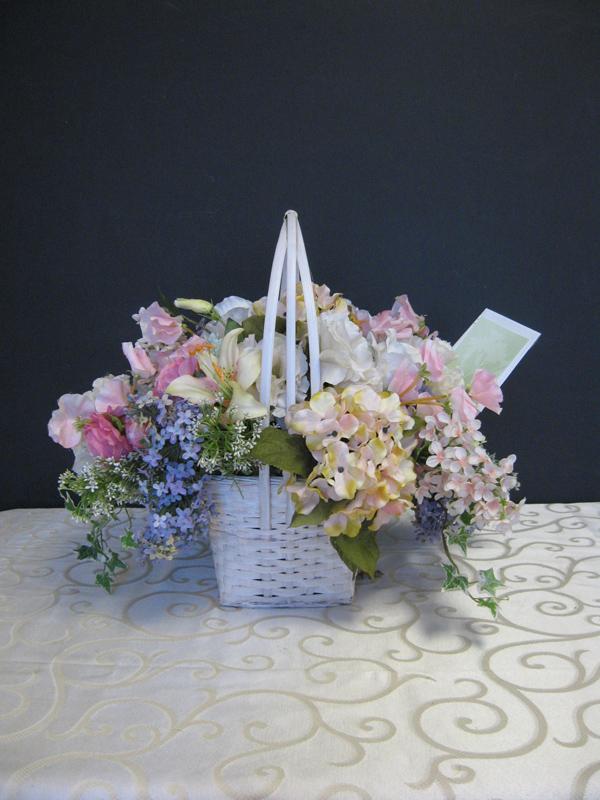 Hospital floral basket